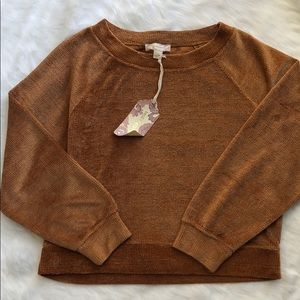 Band of Gypsies Sweaters - NWT BAND OF GYPSIES DARK STAR CHENILLE SWEATER SM
